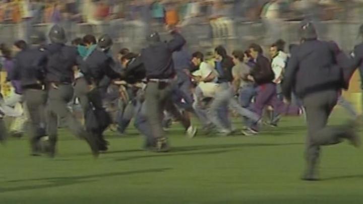 Navijači Dinama otišli na Marakanu s transparentom: 29 godina od nereda na Maksimiru protiv Zvezde