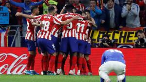 Atletico pobijedio Bilbao i prekinuo niz od tri remija te se izjednačio sa Barcelonom na vrhu