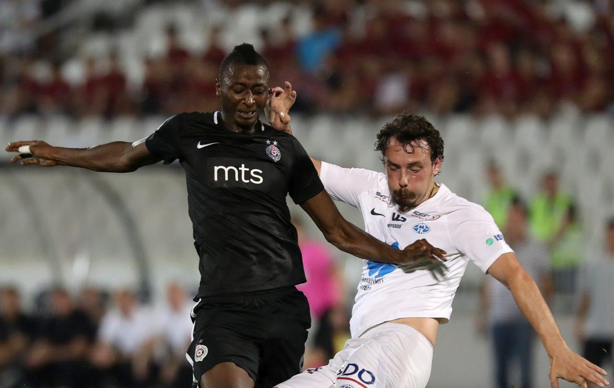 Umar Sadiq vodio Partizan do prve pobjede u Ligi Evrope