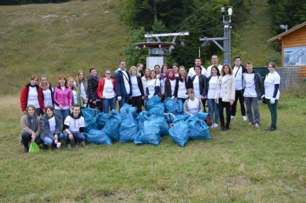 Let's Do It: Čišćenje terena na Igmanu i Bjelašnici