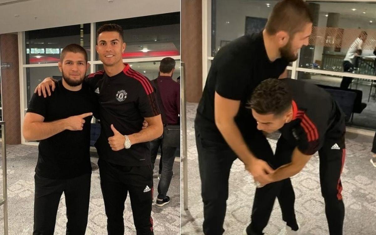 Ronaldo uvijek Khabibu nazove selam, često izgovara riječ svojstvenu za muslimane
