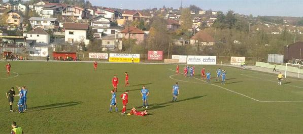 Nogometaši Krajišnika napustili teren za igru