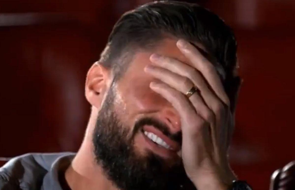 Olivier Giroud se rasplakao kada je ugledao svoju djecu na ekranu