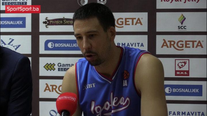 Radivojević: Moramo da ispravimo greške sa početka susreta