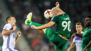 Olimpija na korak od titule u Sloveniji