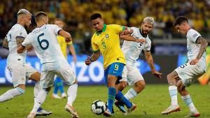 Superclasico pripao Brazilu: Messiju sreća okrenula leđa, Gabriel Jesus zvijezda večeri