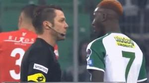 Ovakav 'sukob' fudbalera i suca vjerovatno nikada niste vidjeli