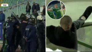 Igrač Ludogoretsa zabio gol, pa provocirao navijače Levskog, a onda spašavao živu glavu