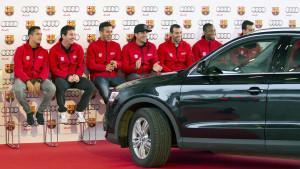 Fudbaleri Barcelone moraju Audiju vratiti automobile