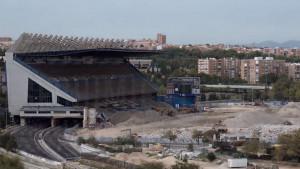 Od kultnog stadiona u Madridu danas je ostala samo jedna tribina