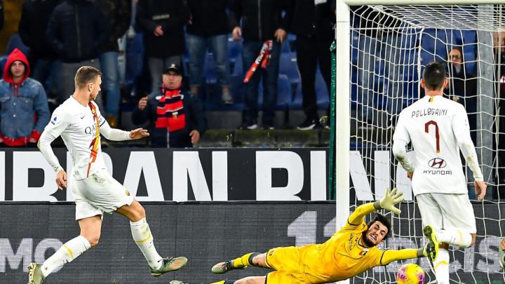 Džeko ne igra protiv Juventusa zbog čega je jednom saigraču poželio sreću