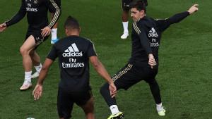 Courtois se nije pojavio na treningu Reala