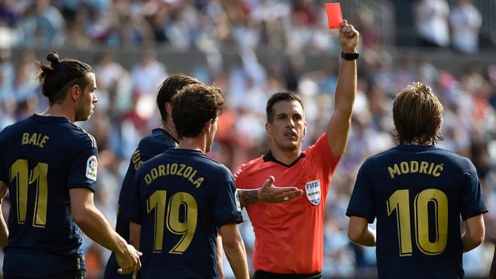 Mnogima nije bilo jasno, ali sada je objašnjeno zašto je Luka Modrić dobio crveni karton