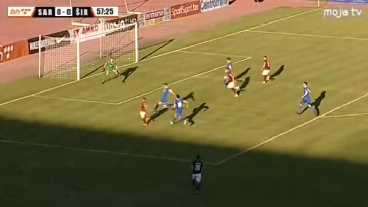 Sarajevo povelo protiv Širokog zahvaljujući autogolu, Sarić povisio na 2:0