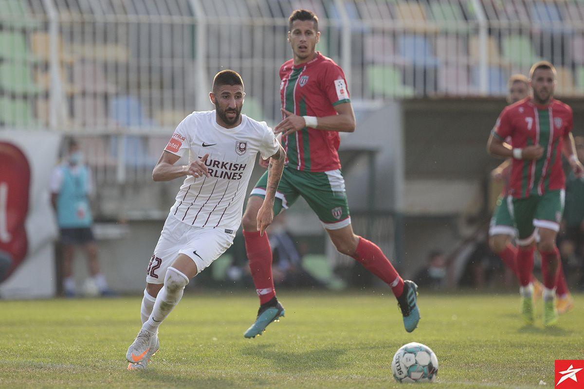 Tatar povisio na 2:0, a onda Hasanović vratio Olimpik u igru