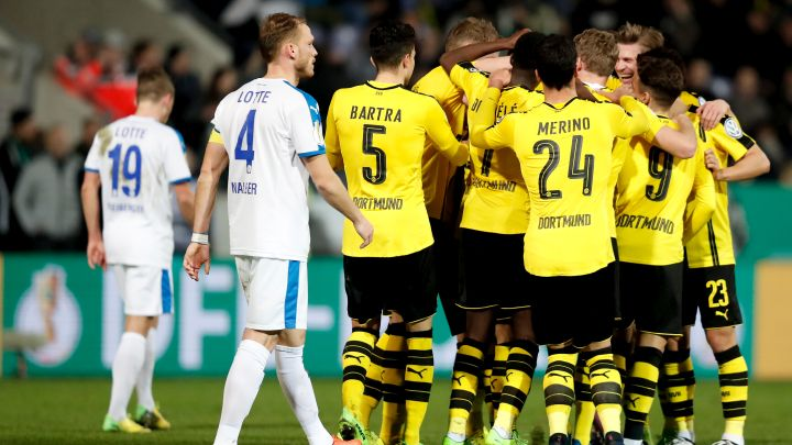 Dortmund bez problema do polufinala protiv Bayerna