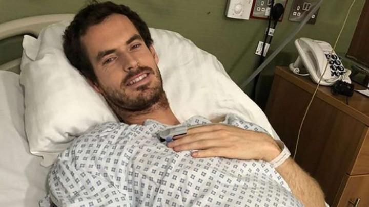 """Andy Murray se javio iz bolnice s porukom: """"Sada imam metalni kuk"""""""