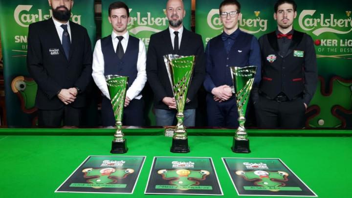 Mario Željo Milošević ponovio titulu Carlsberg snooker državnog prvenstva BiH
