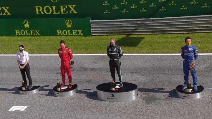 Bottas prvi Covid 19 pobjednik, Hamilton zbog kazne završio tek četvrti
