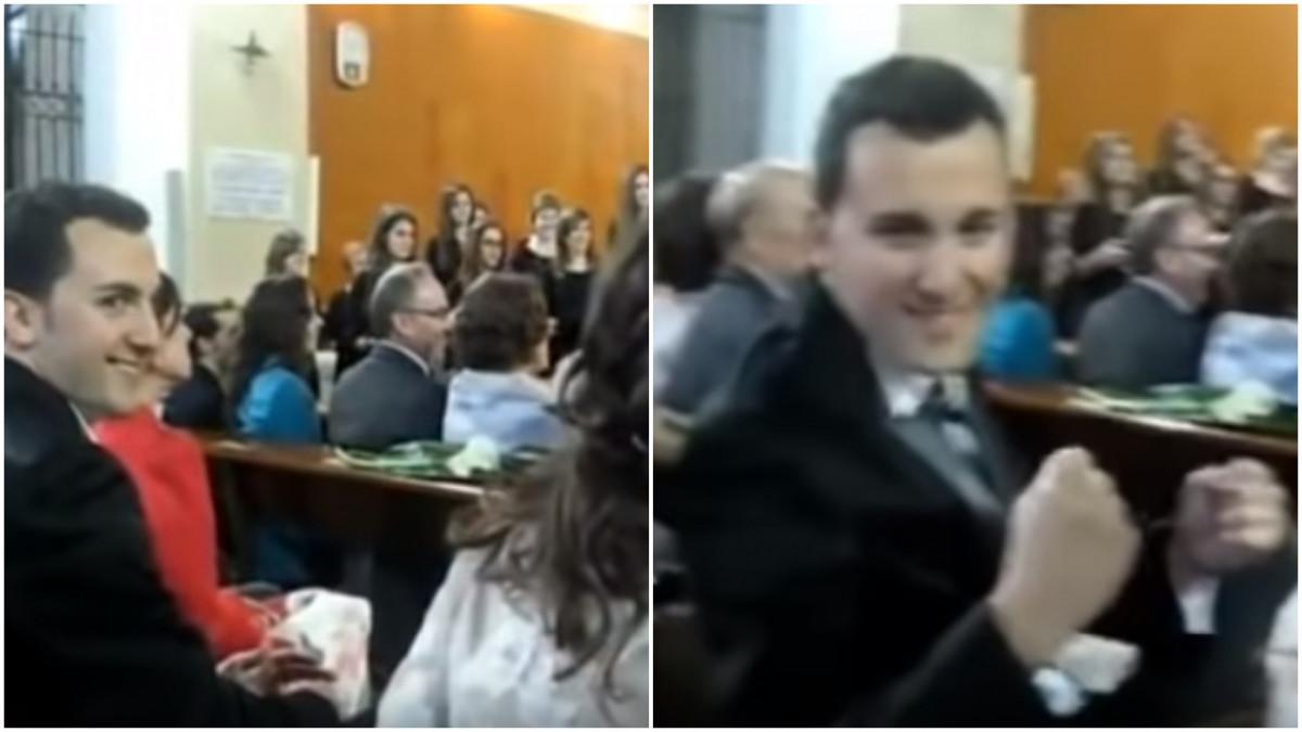 Kako je jedna mlada iznenadila mladoženju sa himnom Lige prvaka na njihovom vjenčanju