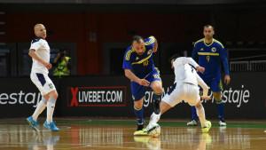 Poraz koji ne boli: Futsaleri BiH izgubili od Srbije u Zenici