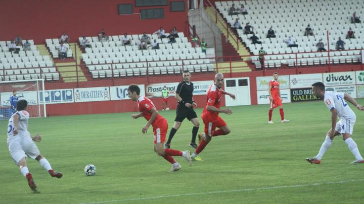 U Mostaru bez pobjednika: FK Velež - FK Tuzla City 1:1