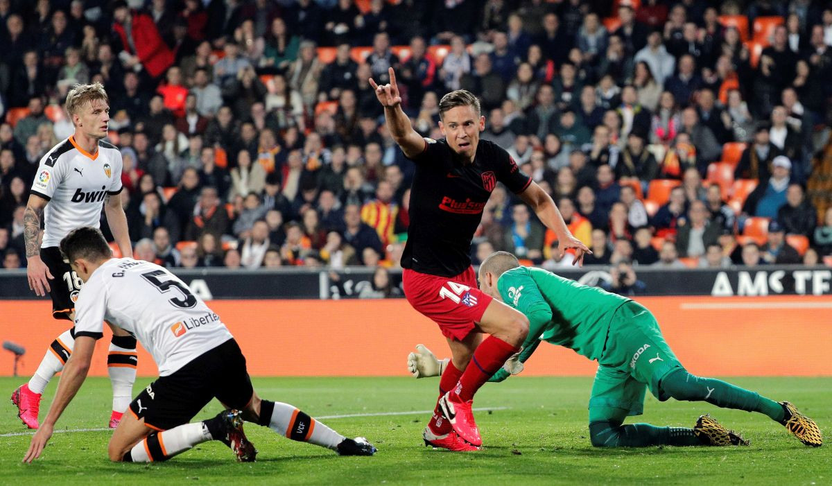 Četiri gola na Mestalli u duelu Valencije i Atletica