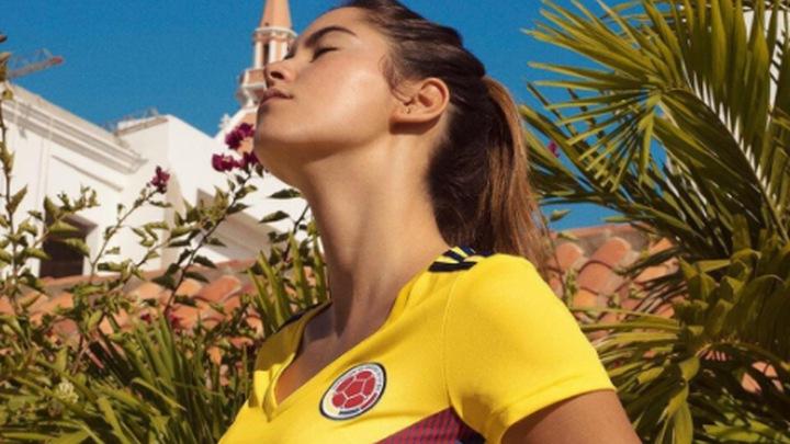 """""""Ko je ona da predstavlja novi dres Kolumbije?"""""""