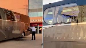 Napadnut autobus u kojem su bili fudbaleri Real Madrida