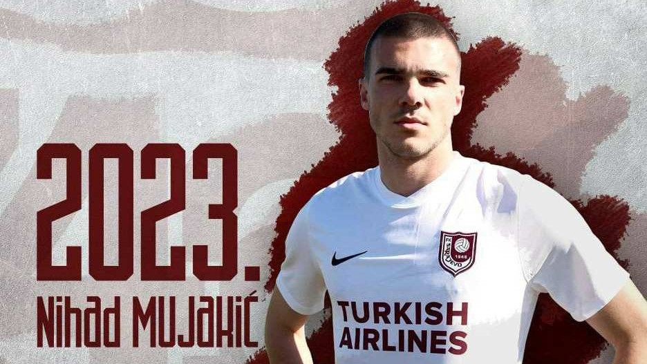 Mujakić produžio vjernost Sarajevu do 2023. godine