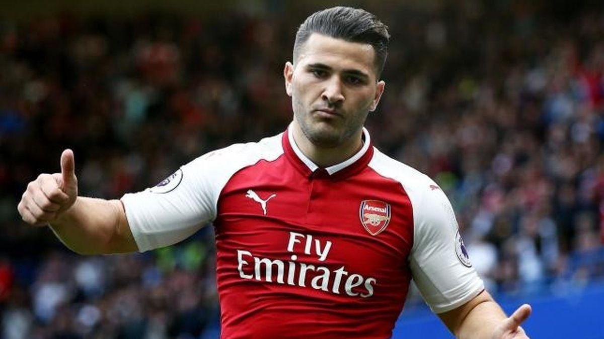 Kolašinac je 'krivac' što su navijači Arsenala večeras euforični