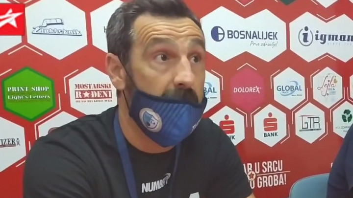 Nalić: Čast mi je što sam protiv Veleža ostvario dobar rezultat