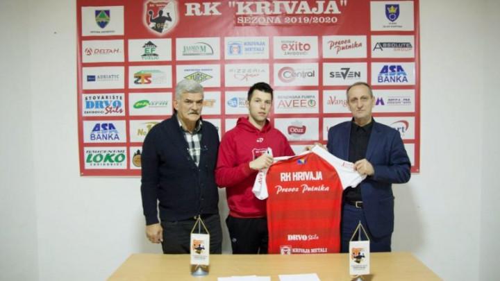 Eldar Mehić novi igrač RK Krivaja