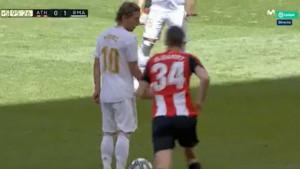 Školski trik starog lisca Modrića bacio Athleticovog 'dječaka' u depresiju