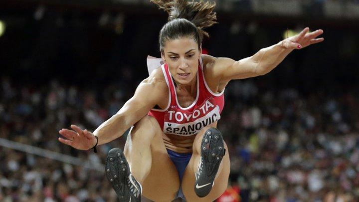 Ivana Španović pobijedila na mitingu u Berlinu