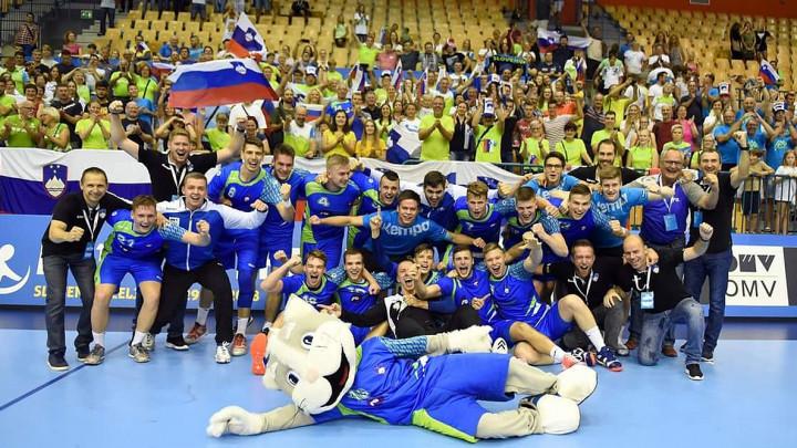 Mladi Slovenci prvaci Evrope u rukometu