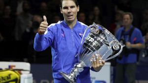 Rafael Nadal podigao trofej za najboljeg na svijetu u 2019. godini