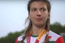 Bjeloruskinja napustila podijum zbog himne BiH