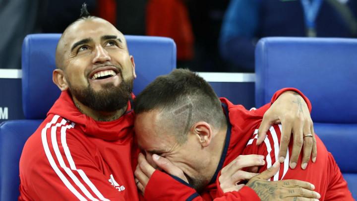 Ribery Vidalu: Brate, nemaš pojma koliko ćeš nedostajati, ti si poseban čovjek