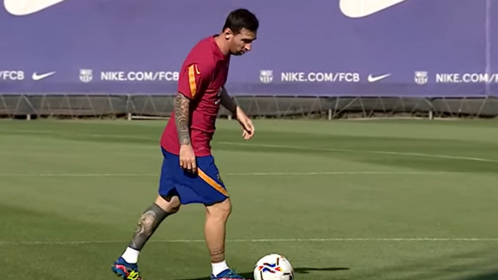 Messi odradio prvi trening