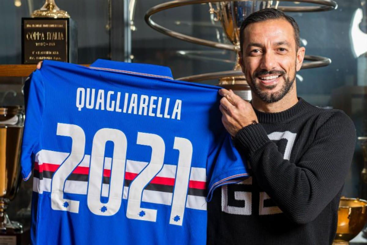 Godine su samo broj: Quagliarella u Sampdoriji do 38. godine