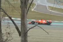 Nesreća Vettela primorala Ferrari da otkaže testiranje