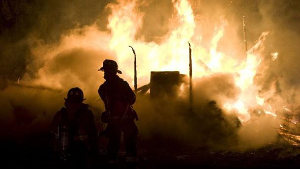 Požar na Banjici, stadion beogradskog Rada u plamenu