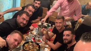 Edin Džeko odmah nakon Romine pobjede nad Torinom doputovao u Sarajevo