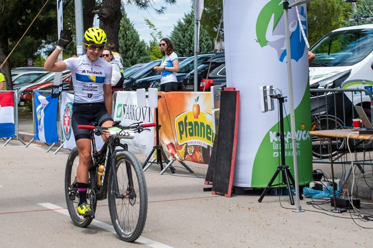 Lejla Tanović 12. biciklistkinja svijeta