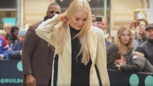 Prorez na haljini Lindsey Vonn otkrio više nego što se očekivalo