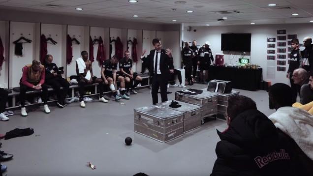 Govor trenera Salzburga na poluvremenu na Anfieldu je poput inserta iz herojskih filmova