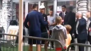 Ronaldo je Matićevim sinovima pokazao kakav je čovjek!
