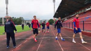 FK Borac odradio prvi trening poslije pauze
