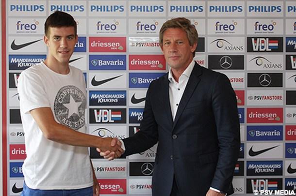 Andrija Luković tri godine u PSV-u